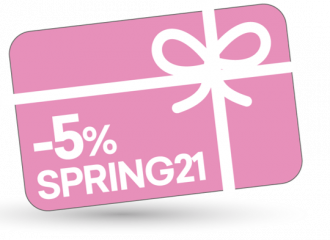 Spring Vibes 5% discount on the entire basket with the code SPRING21